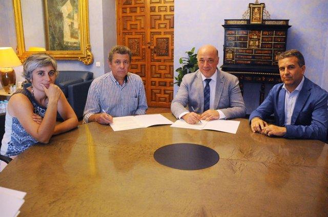 Diputación de Córdoba y Subbética Ecológica firman un convenio de colaboración