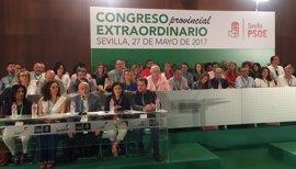 Acuerdo en el PSOE de Sevilla para ir al Congreso federal con 41 delegados afines a Díaz y 15 a Sánchez