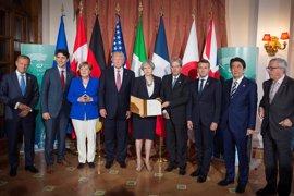 El G-7 dará a EEUU margen de maniobra para decidir si mantiene su respaldo al acuerdo medioambiental de París