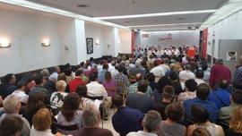 PSE de Gipuzkoa elige a sus 10 delegados para el Congreso Federal del PSOE, 7 de la candidatura de López y 3 de Sánchez