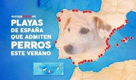 Playas que admiten perros este verano en España y Portugal