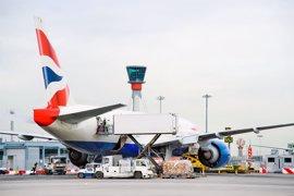 British Airways cancela todos los vuelos desde Heathrow y Gatwick hasta las 18.00 horas