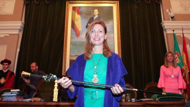 La alcaldesa, en una imagen de archivo