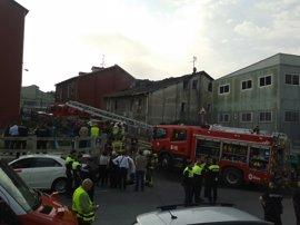 Cuatro muertos y nueve heridos, dos de ellos muy graves, en un incendio en Zorroza, en Bilbao