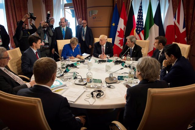 Reunión del G-7 en Taormina