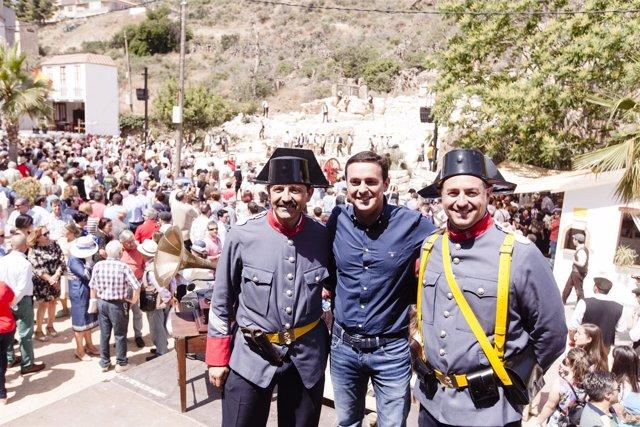 Imágenes de la recreación histórica 'Canteros y Caciques'
