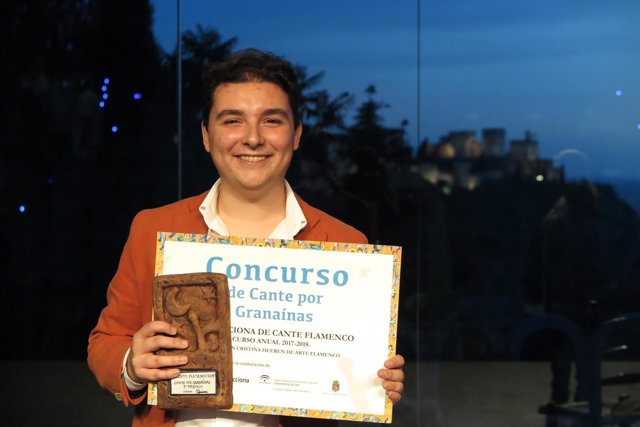 Tomás García, Premiado En El Concurso Flamenco De Cante Por Granaínas