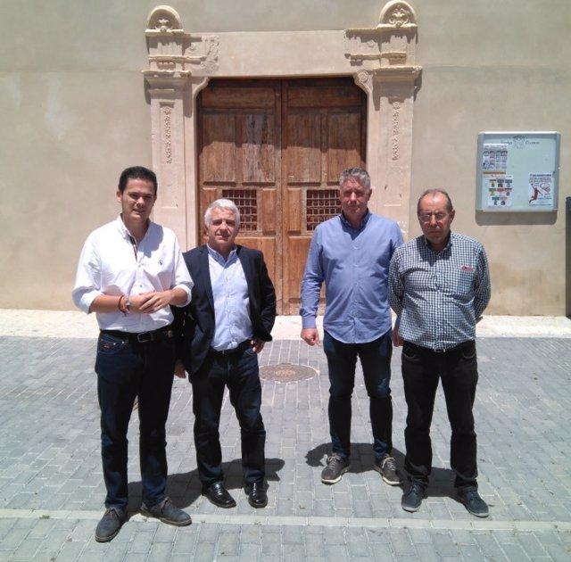 El parlamentario andaluz de Cs José Antonio Funes, en Huéscar