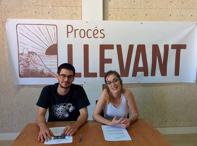 Jonàs Páez e Irene Jaume, de EI