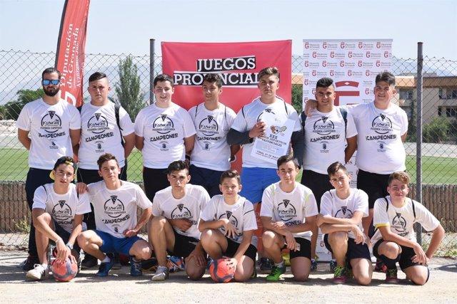 Juegos Deportivos Provinciales de la Diputación de Granada