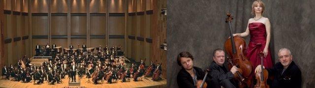 Orquesta Sinfónica de Universidad de Guanajato y Cuarteto Brodsky