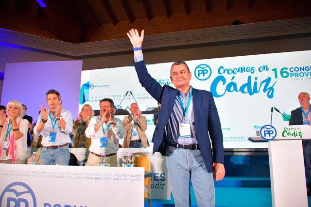 Antonio Sanz, presidente provincial del PP en Cádiz