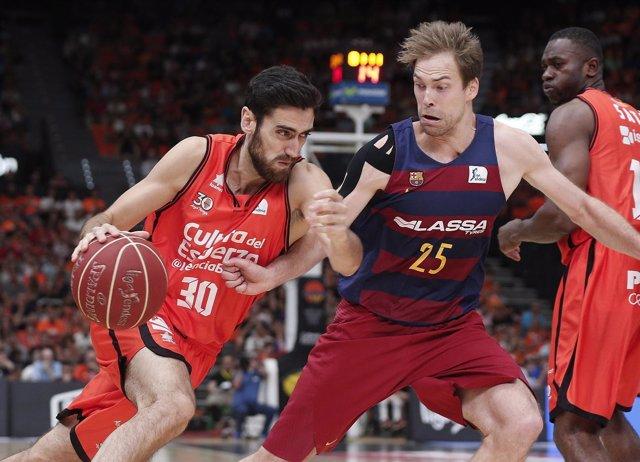 El Valencia Basket, a semifinales de Liga Endesa