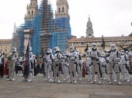 Las tropas imperiales de Star Wars toman Santiago de Compostela de nuevo