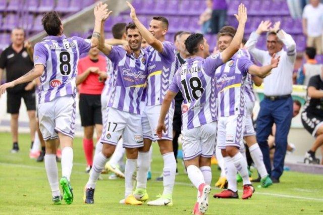 El Valladolid vence al Getafe en Segunda