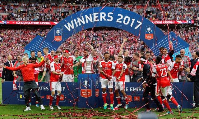 El Arsenal, campeón de la FA Cup 2017