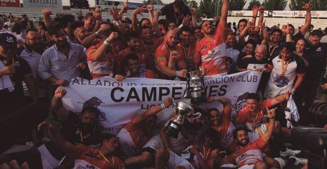 El Vrac Valladolid gana la División de Honor de rugby