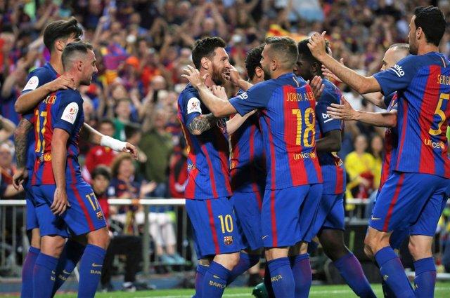 El Barça gana la Copa del Rey 2017