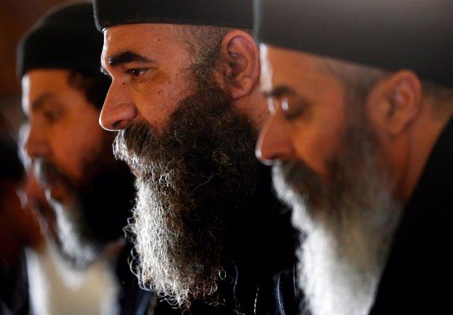 Sacerdotes coptos de Egipto