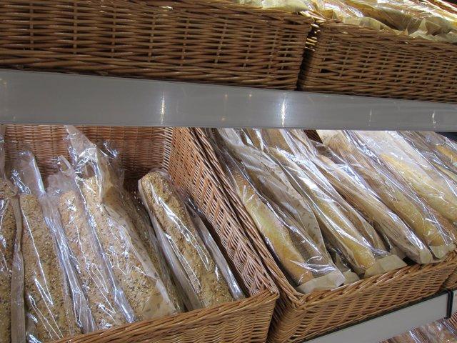 Barras de pan, panadería, IPC, consumo, gluten, celíacos