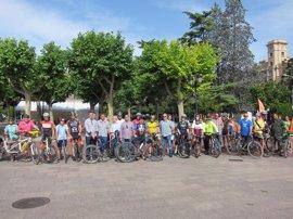 """Ciclistas riojanos piden """"respeto, protección y Ley Justa"""" para evitar """"más desgracias"""" en las carreteras"""