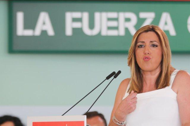 Susana Díaz ante el Comité Director del PSOE-A para hacer balance del 26J