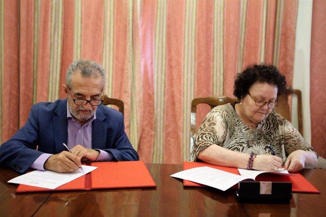 Convenio de colaboración entre el Ayuntamiento de Sevilla y Cruz Roja