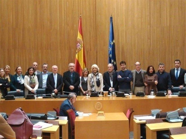 Miembros de la Subcomisión para el Pacto Social y Político por la Educación