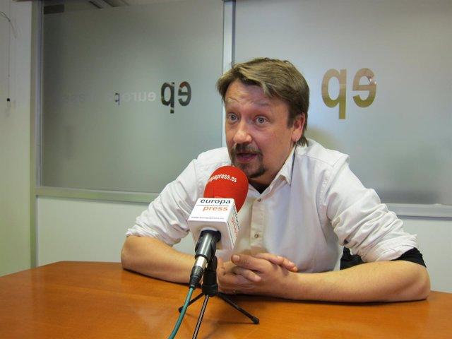 Xavier Domènech (portavoz de Comuns)