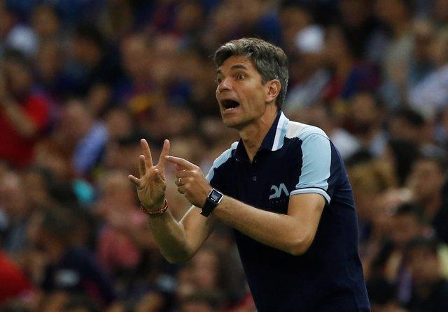 El entrenador del Deportivo Alavés, Mauricio Pellegrino
