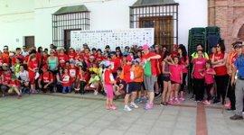Medio millar de personas recorren los senderos de la Alpujarra de Granada en una iniciativa solidaria contra el cáncer
