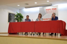El PSOE de Alicante respalda con el 90% la lista de consenso al Congreso que encabeza Alejandro Soler