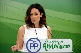 """PP-A, sobre una posible crisis de gobierno andaluz: La más """"achicharrada"""" es Susana Díaz"""