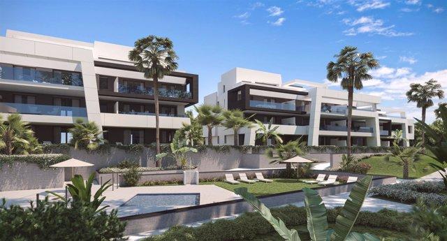 Imagen del proyecto del residencial