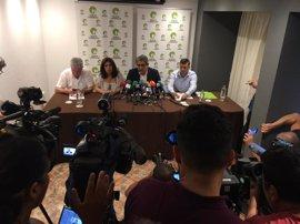 AMPL.- Nueva Canarias aprueba por unanimidad el acuerdo con el Gobierno para apoyar los PGE