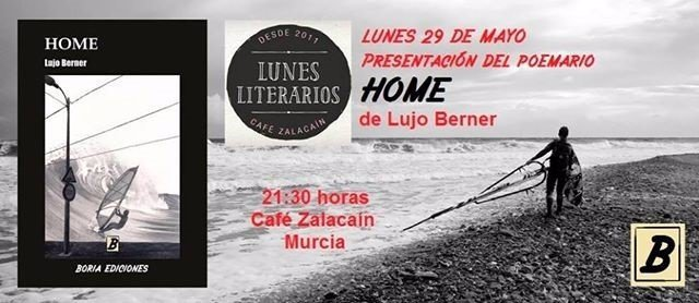 Lujo Berner presenta este lunes en el Zalacaín el poemario 'Home'