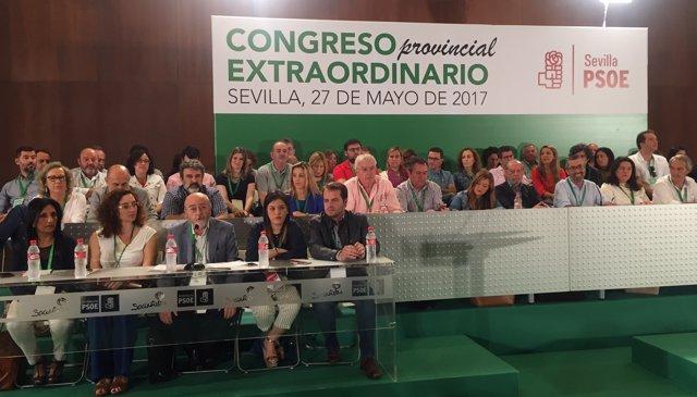 Congreso extraordinario del PSOE de Sevilla