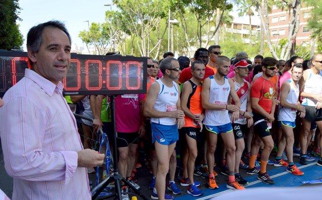 Carrera solidaria de La Salle en Almería