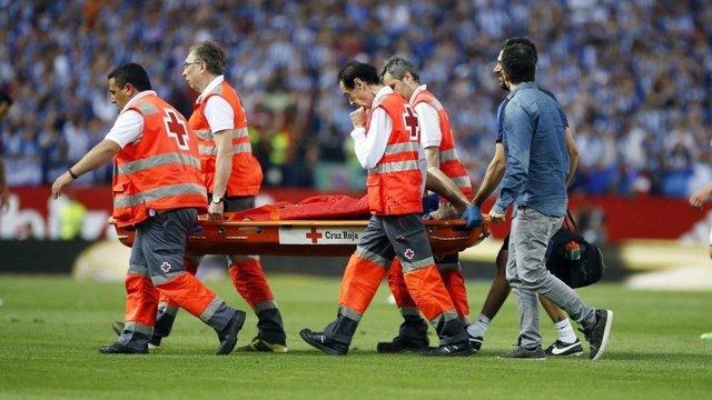 Javier Mascherano Barcelona lesión Copa