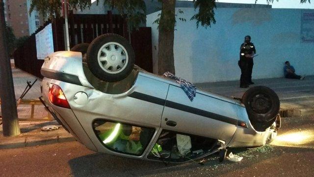 Accidente en Pio Baroja