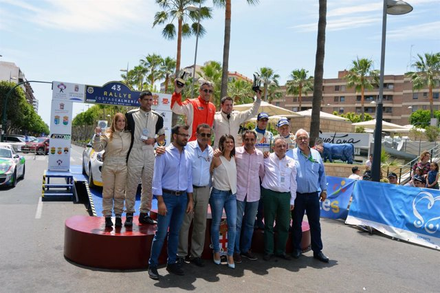 Entrega de premios del 43 Rallye Costa de Almería