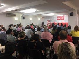 El 'Congresillo' del PSOE de Soria aprueba que Carlos Martínez y Zulema de Leonardo representen al partido en Madrid