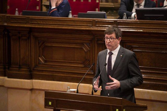 Carles Mundó, conseller de Justicia de la Generalitat