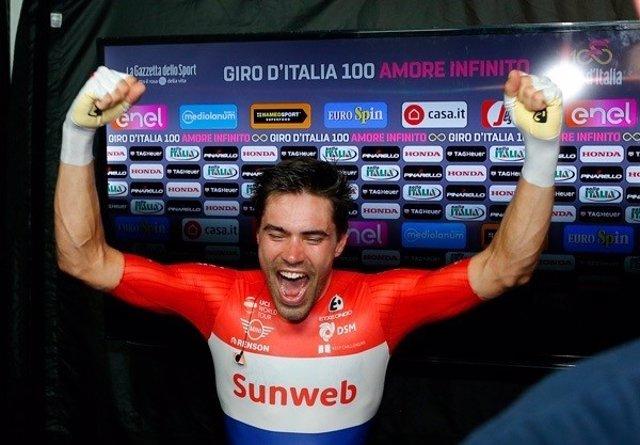 El ciclista holandés Tom Dumoulin