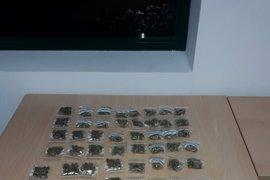 La Guardia Civil descubre 14 plantas de marihuana en Xinzo al acudir a una casa por un presunto episodio de malos tratos