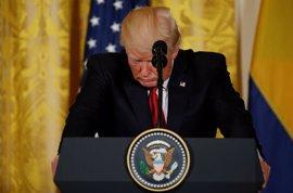 """Trump dice que """"muchas de las filtraciones que están saliendo de la Casa Blanca son mentiras"""""""