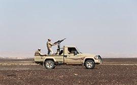 Egipto anuncia la muerte de tres presuntos milicianos en una operación en la península del Sinaí
