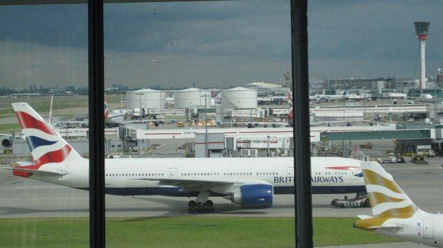 Aeropuerto de Heatrow en Londres