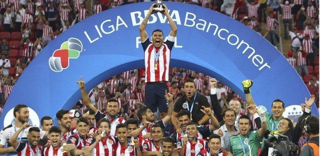 Guadalajara gana la liga mexicana