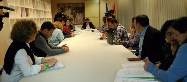 Reunión Pilar Varela con la FACC.